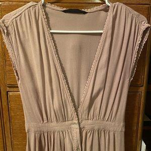 Vintage pale pink dress